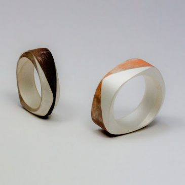 Ringar i 1/3 koppar 2/3 silver. Rings in 1/3 copper 2/3 silver.