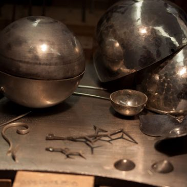 Grundformer av silver. Basic shapes of silver.