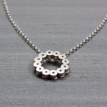 Familjesmycken i silver. Family jewelery in Silver.